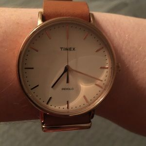 Timex women's watch with light